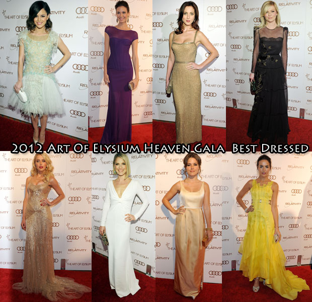 The Best Dresses of the Gala Art of Elysium