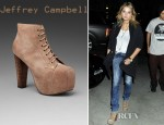 Ashley Benson's Jeffrey Campbell Lita Shoe