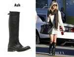 Ashley Tisdale's Ash Scott Equestrian Boots