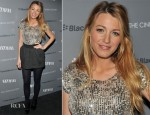 Blake Lively In Dolce & Gabbana - 'Haywire' New York Screening