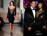 Brandy Norwood In Emilio Pucci - The Cosmopolitan Of Las Vegas Celebrates New Year's Eve