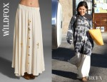 Brenda Song's Wildfox Couture Romeo and Juliet Skirt