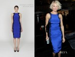 Cameron Diaz In Monique Lhuillier - The Weinstein Company's 2012 Golden Globe Awards Party