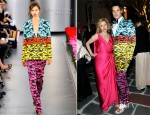 Cameron Silver In Mary Katrantzou - LAXART Ball OF Artists Event