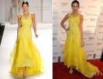 Camilla Belle In Carolina Herrera - 2012 Art Of Elysium Heaven Gala