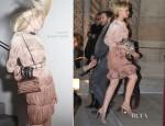 Sidewalk Style - Carey Mulligan In Lanvin & Roland Mouret