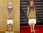 Cate Blanchett In Louis Vuitton - Maison Louis Vuitton Roma Etoile Opening Party