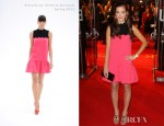 Celine Buckens In Victoria by Victoria Beckham - 'War Horse' London Premiere