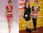 Charlene Choi In Carven - Sina Music Awards Ceremony
