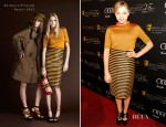 Chloe Moretz In Burberry Prorsum – BAFTA Annual Awards Season Tea Party