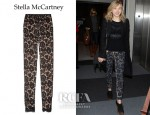 Chloe Moretz' Stella McCartney Lace Leggings-Style Pants