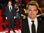 Chris Pine In Ralph Lauren - 'This Means War' London Premiere