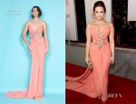 Demi Lovato In Marchesa - 2012 People's Choice Awards