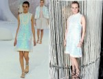 Diane Kruger In Chanel - 'Numeros Prives' Exhibition by Chanel