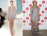 Diane Kruger In Erdem - Sidaction Gala Dinner 2012