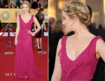 Dianna Agron In Carolina Herrera - 2012 SAG Awards