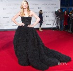 Doutzen Kroes In Giambattisa Valli Couture - 'Nova Zemba' Amsterdam Premiere