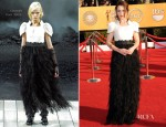 Emilia Clarke In Chanel - 2012 SAG Awards