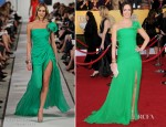 Emily Blunt In Oscar De La Renta - 2012 SAG Awards