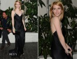 Emma Roberts In Temperley London – W Magazine's  Annual Golden Globe Awards Celebration