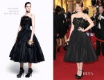 Emma Stone In Alexander McQueen - 2012 SAG Awards
