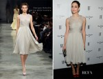Emmy Rossum In Georges Hobeika – W Magazine's Annual Golden Globes Party