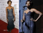 Estelle In Vintage Chanel - 2012 Art of Elysium Heaven Gala