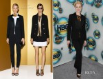 Evan Rachel Wood In Gucci - HBO's Post 2012 Golden Globe Awards Party