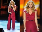 Faith Hill In Antonio Berardi - 2012 People's Choice Awards Performance