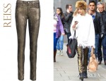 Fearne Cotton's Reiss Farrah High Waisted Jeans
