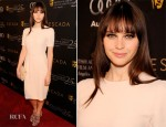 Felicity Jones In Dolce & Gabbana - 2012 BAFTA Awards Season Tea Party