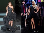 Fergie In Christian Siriano - 'Dick Clark's New Year's Rockin Eve'