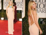 Heidi Klum In Calvin Klein - 2012 Golden Globe Awards