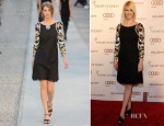 January Jones In Chanel - 2012 Art Of Elysium Heaven Gala