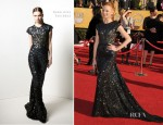 Jayma Mays In Reem Acra - 2012 SAG Awards