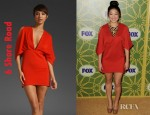 Jenna Ushkowitz' 6 Shore Road Luna Mini Dress