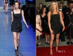Jennifer Aniston In Dolce & Gabbana - 2012 Annual Directors Guild Of America