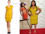 Jennifer Hudson In Roland Mouret - 'I Got This: How I Changed My Ways and Lost What Weighed Me Down' Book Launch Party