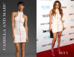Jennifer Lopez' Camilla and Marc Protean Dress