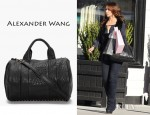Jennifer Love Hewitt's Alexander Wang Rocco Mini Duffle Bag