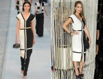 Jessica Alba In Chanel - 'Numeros Prives' Exhibition by Chanel