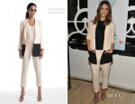 Jessica Alba In Jenni Kayne - Honest.com Launch