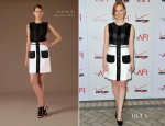 Jessica Chastain In Andrew Gn – 2012 AFI Awards
