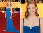 Jessica Chastain In Calvin Klein - 2012 SAG Awards