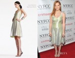 Jessica Chastain In Lyn Devon - 2011 National Board Of Review Awards Gala
