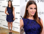 Jessica Lowndes In Lela Rose - 'A Promise of Beauty and Brilliance' Golden Globe Awards Event