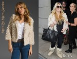 Jessica Simpson's Marc By Marc Jacobs Nikki Fur Jacket
