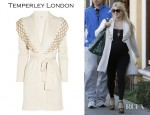 Jessica Simpson's Temperley London Nymph Wool-Blend Cardigan