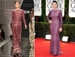 Julianna Margulies In Naeem Khan - 2012 Golden Globe Awards