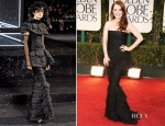 Julianne Moore In Chanel Couture - 2012 Golden Globe Awards